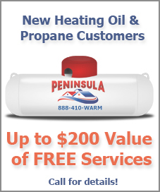 New heating and oil propane customers