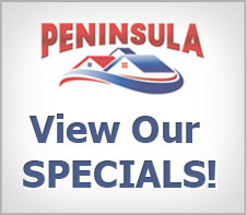Peninsula's Plumbing Specials Button